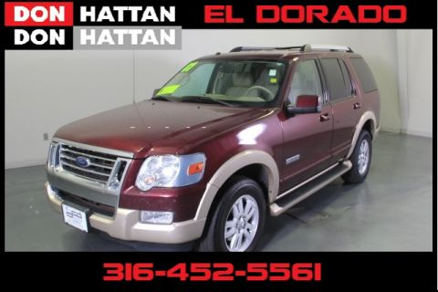 Used Ford Explorer Eddie Bauer