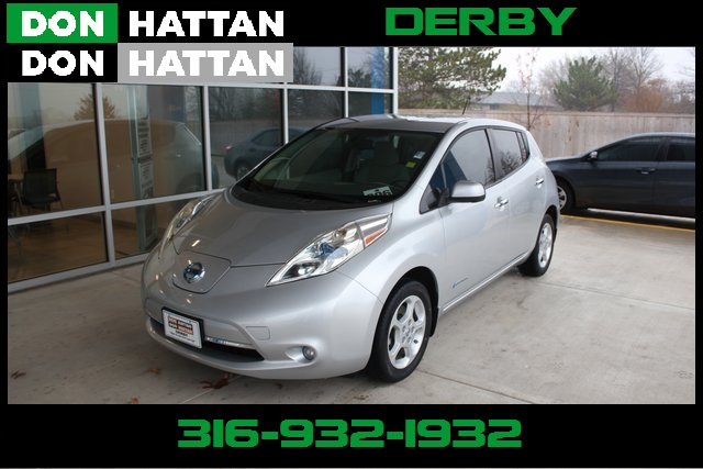 Pre Owned 2015 Nissan Leaf Sv 4d Hatchback In Wichita D1307 Don